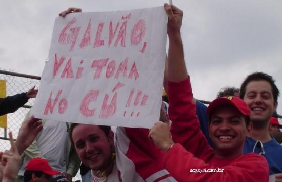 Cala a Boca, Galvão!